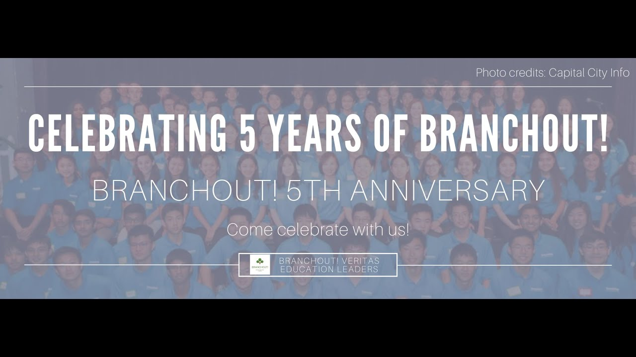 BranchOut! Celebrates 5th Year Anniversary