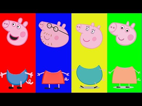 Wrong Heads Peppa Pig learning Matching game for kids Celeste corner