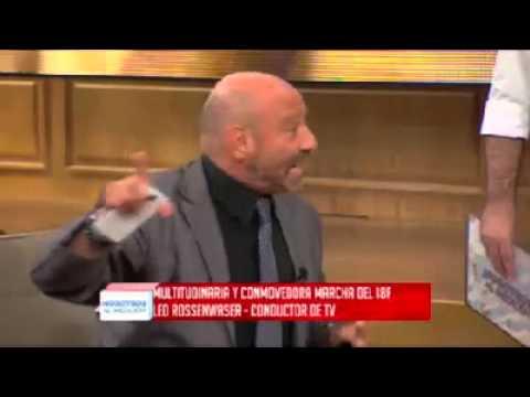 Luis Brandoni, furioso, abandonó el programa de Fabián Doman
