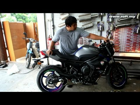 2013 Yamaha XJ6N with Yoshimura R55 Exhaust - Thunder Sound!