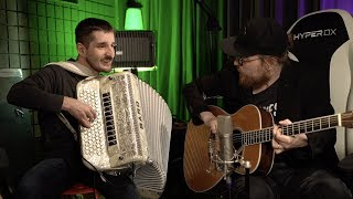 Zaz Je Veux Cover Accordion and Guitar видео