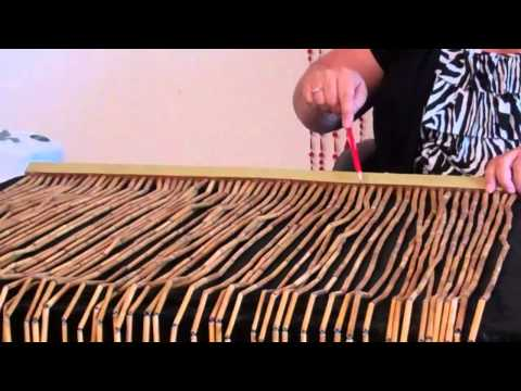 VIDEO: How to Trim Width From Bamboo & Wood Beaded Curtains