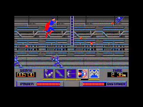 Superman Man of Steel 1988 Atari ST Last Boss and Ending