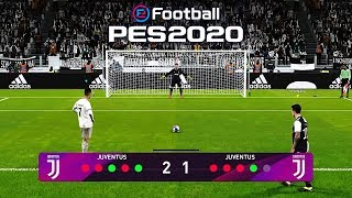 PES 2020 Penalty Shootout - Juventus Vs Juventus