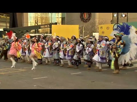 Thousands Brave Cold at Philly's Folk Parade