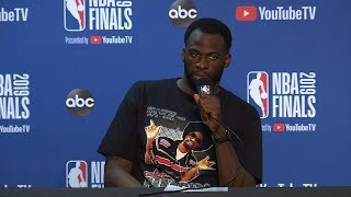 Draymond Green Postgame Interview - Game 6 | Raptors vs Warriors | 2019 NBA Finals