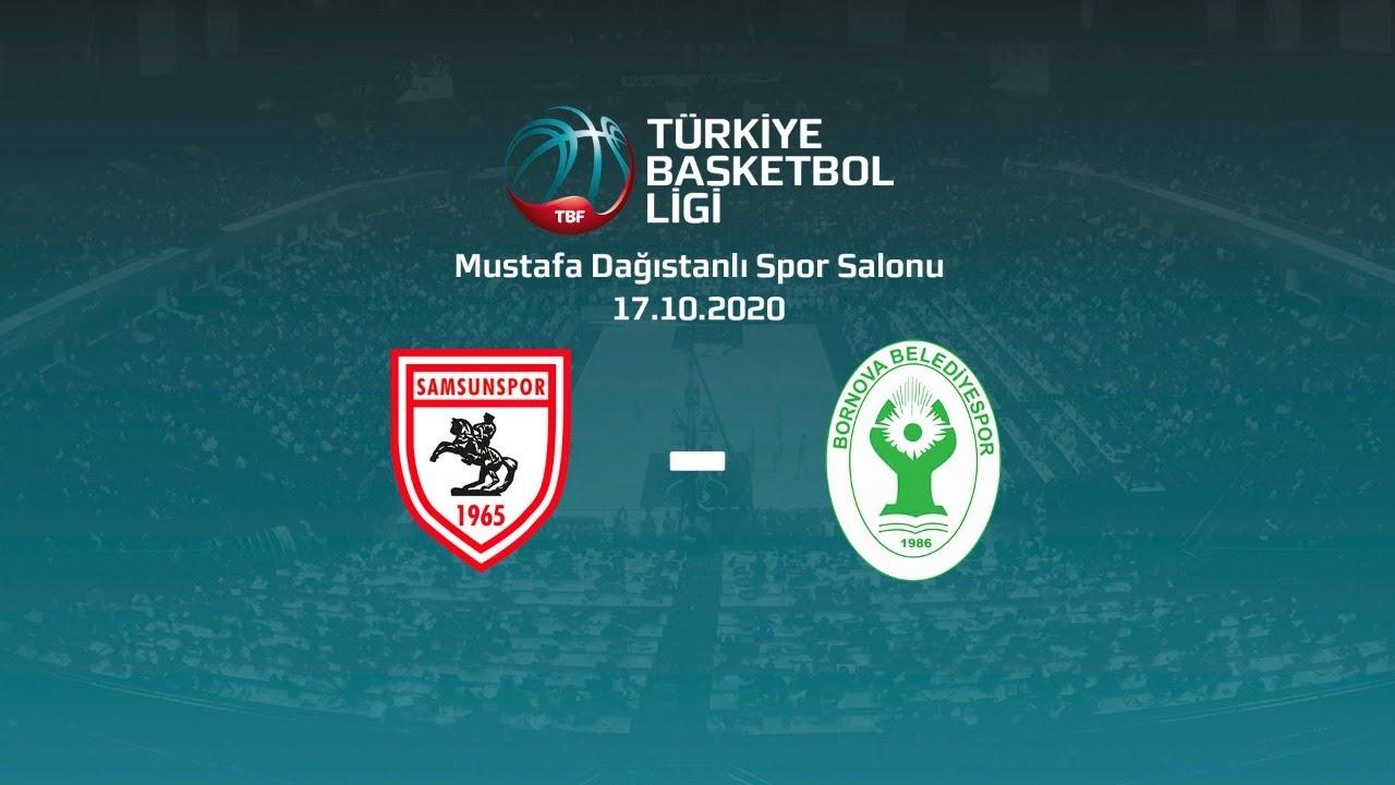 Samsunspor – Bornova Belediyesi TBL 1.Hafta