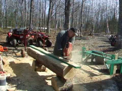 Original Alaskan Small Log Chainsaw Mill