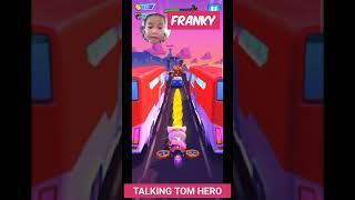 FRANKY PLAYS TALKING TOM HERO