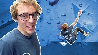 Louis Crushing Some Of The Hardest Indoor Climbs In London | Alex Lemel Set