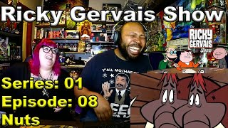The Ricky Gervais Show Season 1 Episode 08 Nuts Reaction