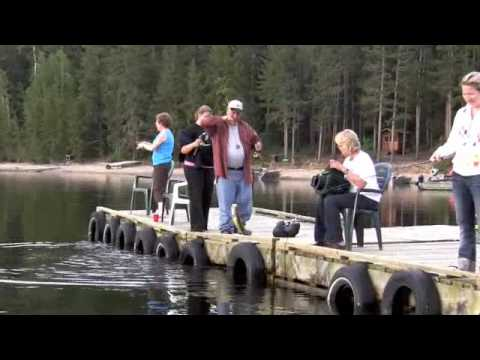 Walleye fishing lac seul youtube for Lac seul fishing report