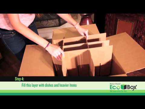 Ecobox Dish Barrel Box With Cell Kit Assembly Tutorial