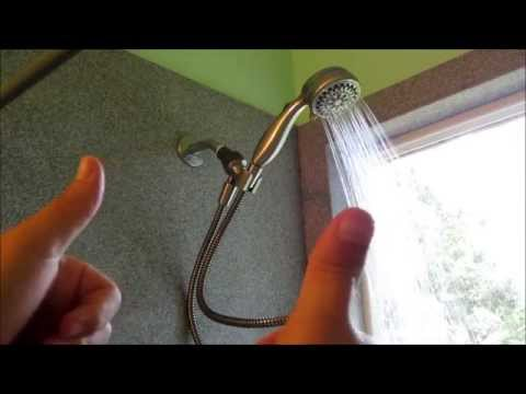 Handheld Shower Head Installation