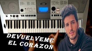 """Como Tocar """" Devuélveme El Corazon """" En Piano Fácil / Sebastian Yatra / TUTORIAL"""