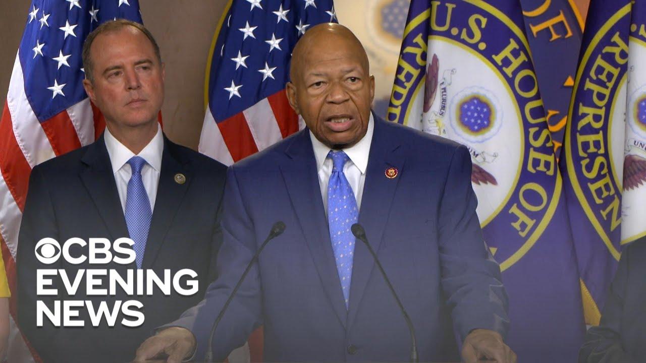 Feud escalates between Trump and Rep. Cummings