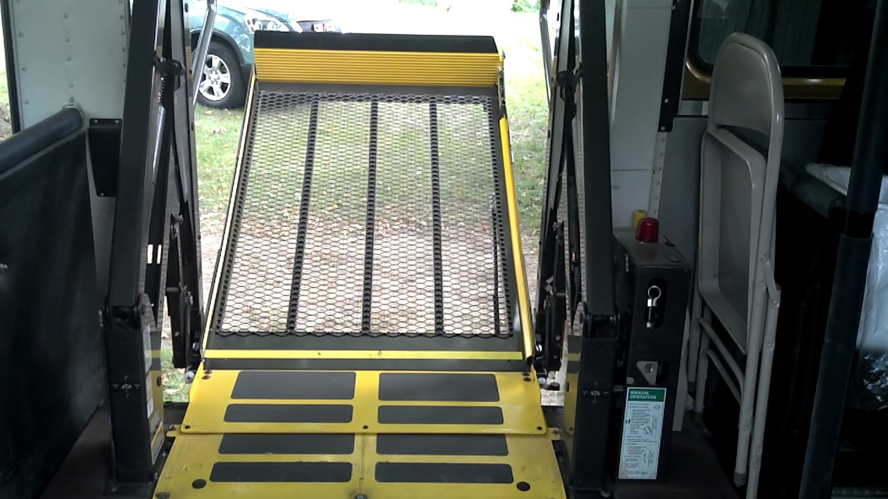 Wheelchair Lift Interior Pov Youtube