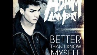 "Adam Lambert Remixes ""Better Than I Know Myself"""