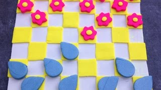 Make A Summer Themed Clay Checker Board - Diy Crafts - Guidecentral