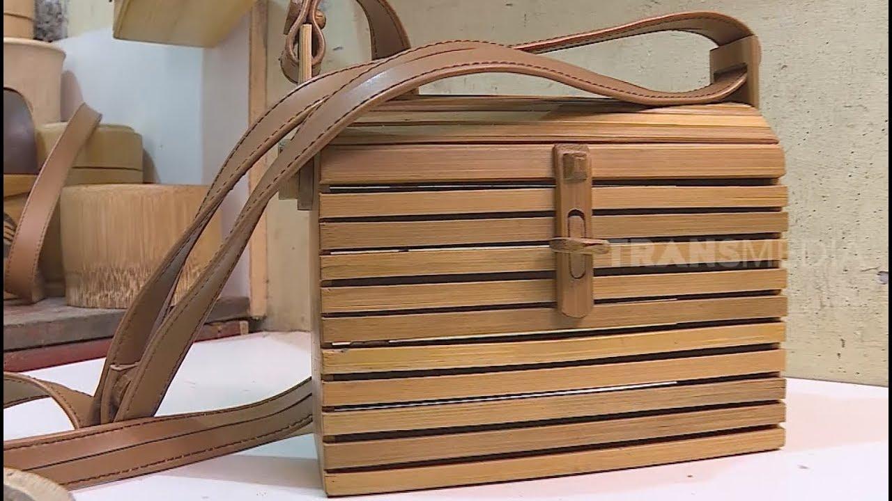 Wah Tas Unik Dan Elegan Ini Terbuat Dari Bambu Ragam Indonesia