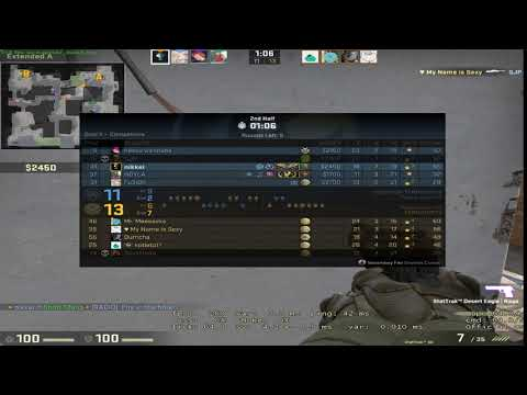 Counter-strike  Global Offensive | deagle, 1 shot 2 kills
