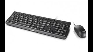 Unboxing & Design Review of Lenovo keyboard & mouse KM 4802