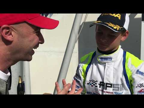 Harry Thompson, FA Kart / Vortex, CIK-FIA European OKJ Champs, Mika Salo Circuit (FIN)