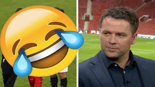😂😂Michael Owen mistake on live tv😂😂