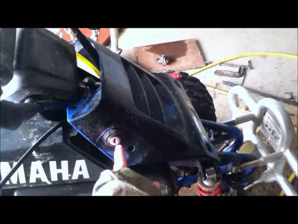 How to start an ATV without a Key - YouTube