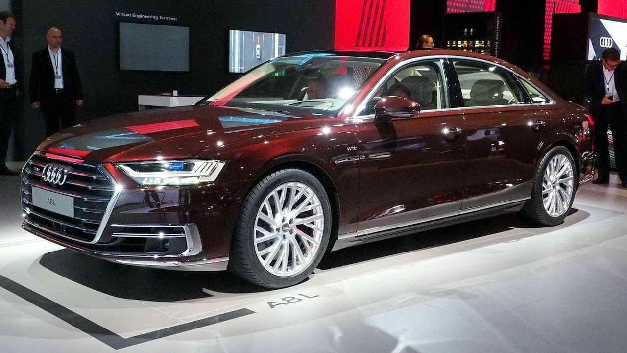 Audi A8 new 2018 (новой Ауди А8 2019 видео обзор) - YouTube
