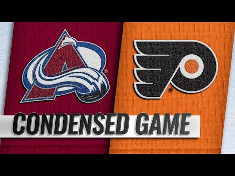 10/22/18 Condensed Game: Avalanche @ Flyers