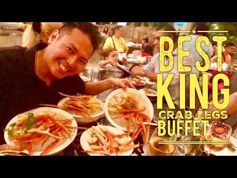 Best King Crab Legs Buffet Ever: Intercontinental Hotel Kuala Lumpur Serena Brasserie Malaysia