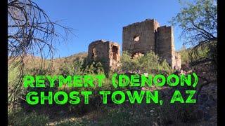 Exploring Reymert (DeNoon) Arizona!  Hunt for Ruins, Pottery & Tools! Desert Ghost Town Adventure
