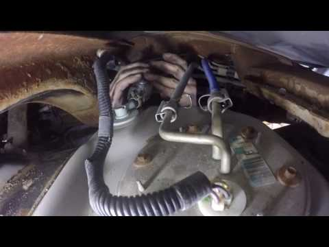 Fuel Pump Replacement - 2001 Ford 150, 5 4L - YouTube