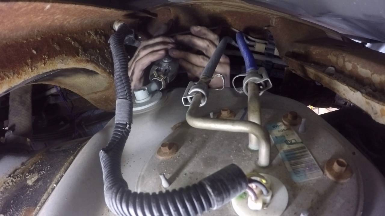 Fuel Pump Replacement  2001 Ford 150, 54L  YouTube