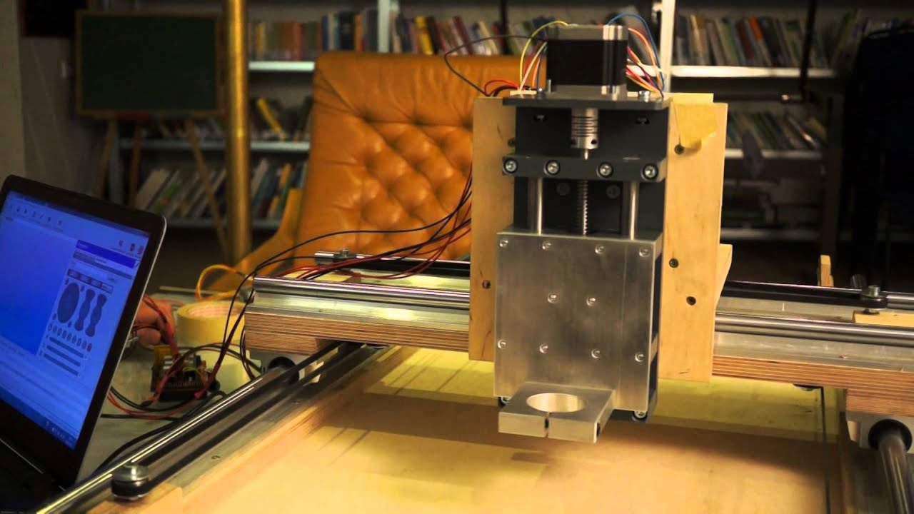 diy cnc fr se by maker austria first run youtube. Black Bedroom Furniture Sets. Home Design Ideas