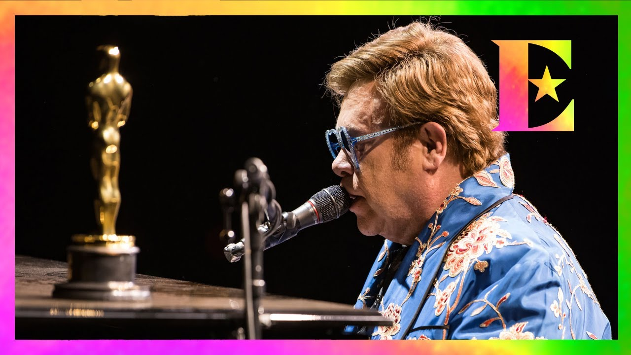 Elton John — Sharing His Winning Oscar l The Farewell Tour
