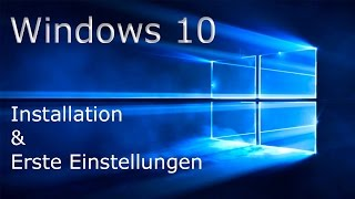 [TUT] Windows 10 installieren [DE | 4K]