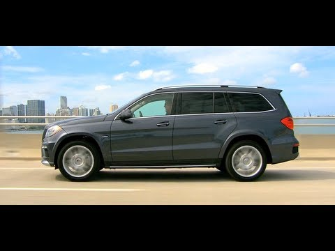 2013 GL-Class Walk Around -- Mercedes-Benz 7 Passenger Luxur