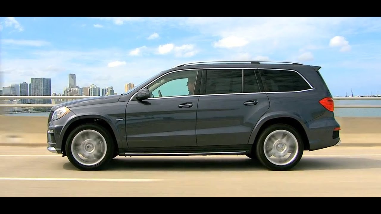 2013 gl-class walk around -- mercedes-benz 7 passenger luxury suv