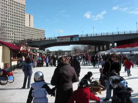 Sights & Sounds of the Rideau Canal in Winter