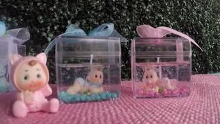 Jel Mum İçine Minik Bebek Biblolar Koydum ❤❤ - DIY #99