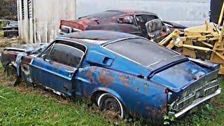 Брошенные автомобили 9