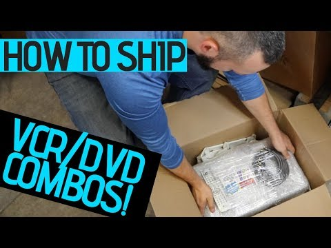 EBay For Beginners | How To Package & Ship A VCR | Step By Step Tutorial