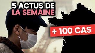 Le coronavirus menace la France, la présidentielle américaine, l'anti-Greta... 5 actus de la semaine