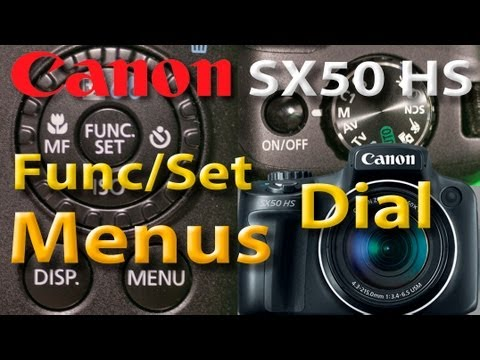 Canon SX50 HS - Menus - Func/Set - Dial de opções de Fotografia - Sit Kong Sang