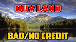 HOW TO BUY LAND | With Bad or No Credit