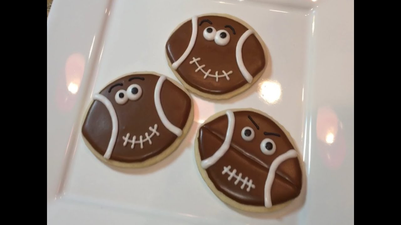 Super Bowl Football Cookies (how To)