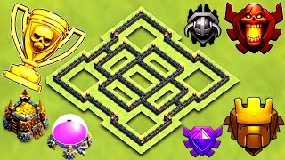 BEST TH7 TROPHY BASE 2017 | TOWN HALL 7 TROPHY / FARMING BASE 2017 | CLASH OF CLANS