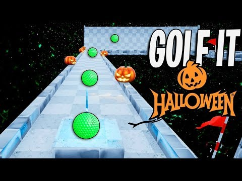 GOLF IT! MAPA DE HALLOWEEN